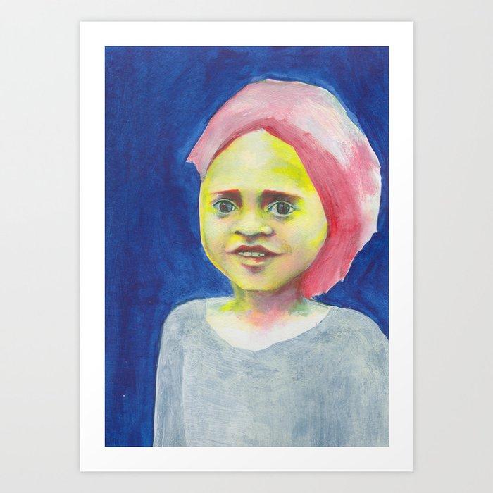Les petites filles I.32 Art Print