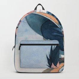 Vegeta watercolor Backpack
