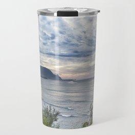 Hanalei Bay Sunset Travel Mug