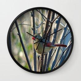 Pretty Girl Wall Clock