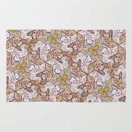 Pig Duck Sheep Escher Trio Rug
