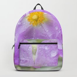Flowers in the rain Backpack