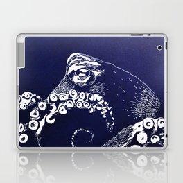 Blue octopus Laptop & iPad Skin