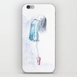 Ballerina On Pointe iPhone Skin