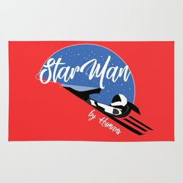 StarMan by Humans Rug