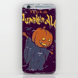 Pumpkin Ale iPhone Skin