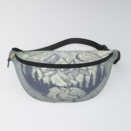 Compass Mountain Road Trip Fanny Pack