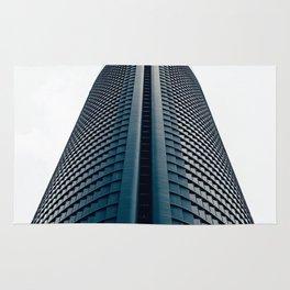 Skyscraper in Madrid Rug