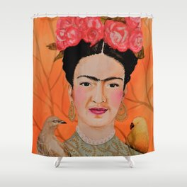 frida a coyoacan Shower Curtain