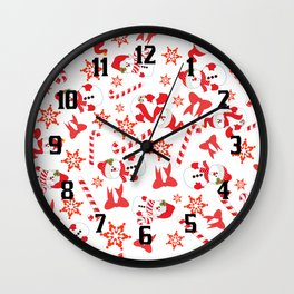 A Little Bit Of Christmas Wall Clock