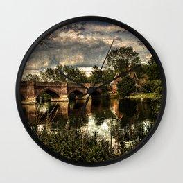 Clifton Hampden Wall Clock