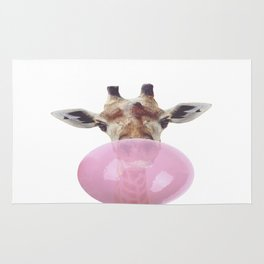 Bubble Gum - Giraffe Rug
