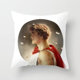 Fearless King Throw Pillow