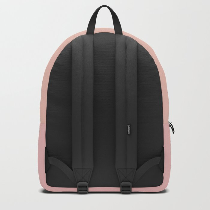 Sunset Pink Coral Gradient Backpack
