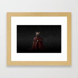 Dark Love Framed Art Print
