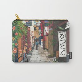 Flowers in an Alley Carry-All Pouch