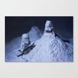 Lego Stormtrooper excavation  Canvas Print