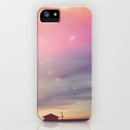 ACROSS THE SKY 01 iPhone Case