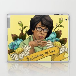 Reclaiming My Time Laptop & iPad Skin