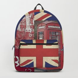 Great Britain London Union Jack England Backpack