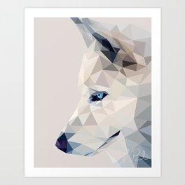 Winter, the Wolf Art Print