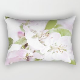 Apple Tree Blossoms Rectangular Pillow