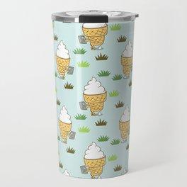 Everyone Poops Pattern Travel Mug