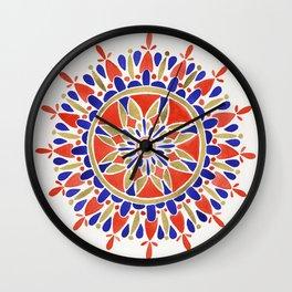 Mandala – America Palette Wall Clock