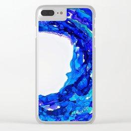W A V E S Clear iPhone Case