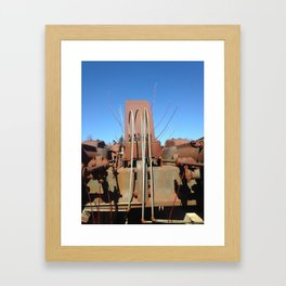 Willow and Generator (Merry Christmas Mine Part IV) Framed Art Print