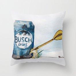 Beer Darts Throw Pillow
