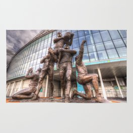 Rugby League Legends statue Wembley stadium Rug