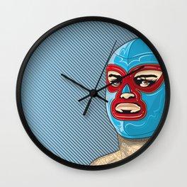 nacho libre, el campeon! Wall Clock