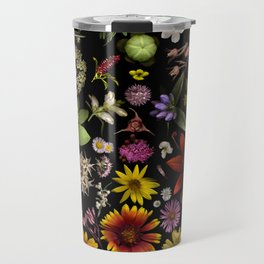 Flowers of Plants Native to Manitoba, Canada Travel Mug