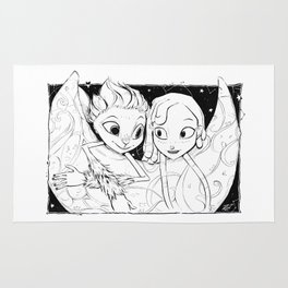 Mune and Glim (Mune: Guardian of the Moon) Rug