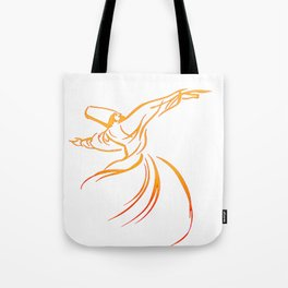 Sema The Dance Of The Whirling Dervish Tote Bag