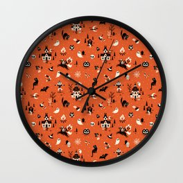 Lil Spookies Wall Clock