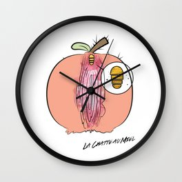 LCAM logo Wall Clock