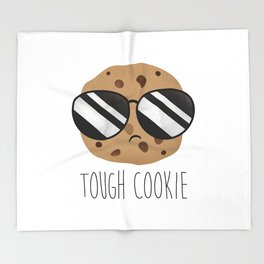 Tough Cookie Throw Blanket