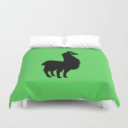 Angry Animals: llama Duvet Cover