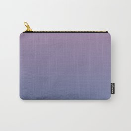 Gradient Dawn Pink Purple Blue Carry-All Pouch