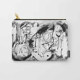 Free Your Spirit - b&w Carry-All Pouch