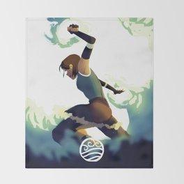 Avatar Korra II Throw Blanket