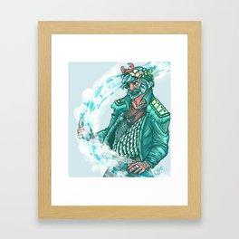 God of the Sea Framed Art Print