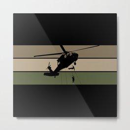 Air Assault Metal Print