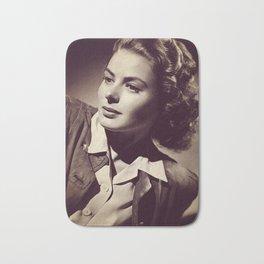 Ingrid Bergman, Hollywood Legend Bath Mat