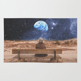 PLANET EARTH, THE UNIVERSE AND I Rug