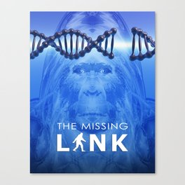 The Missing Link Canvas Print
