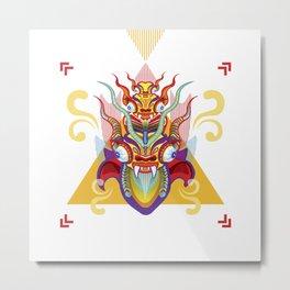 Peru Diablada - Devil Metal Print