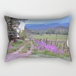 Dames Rocket Ranch by CheyAnne Sexton Rectangular Pillow